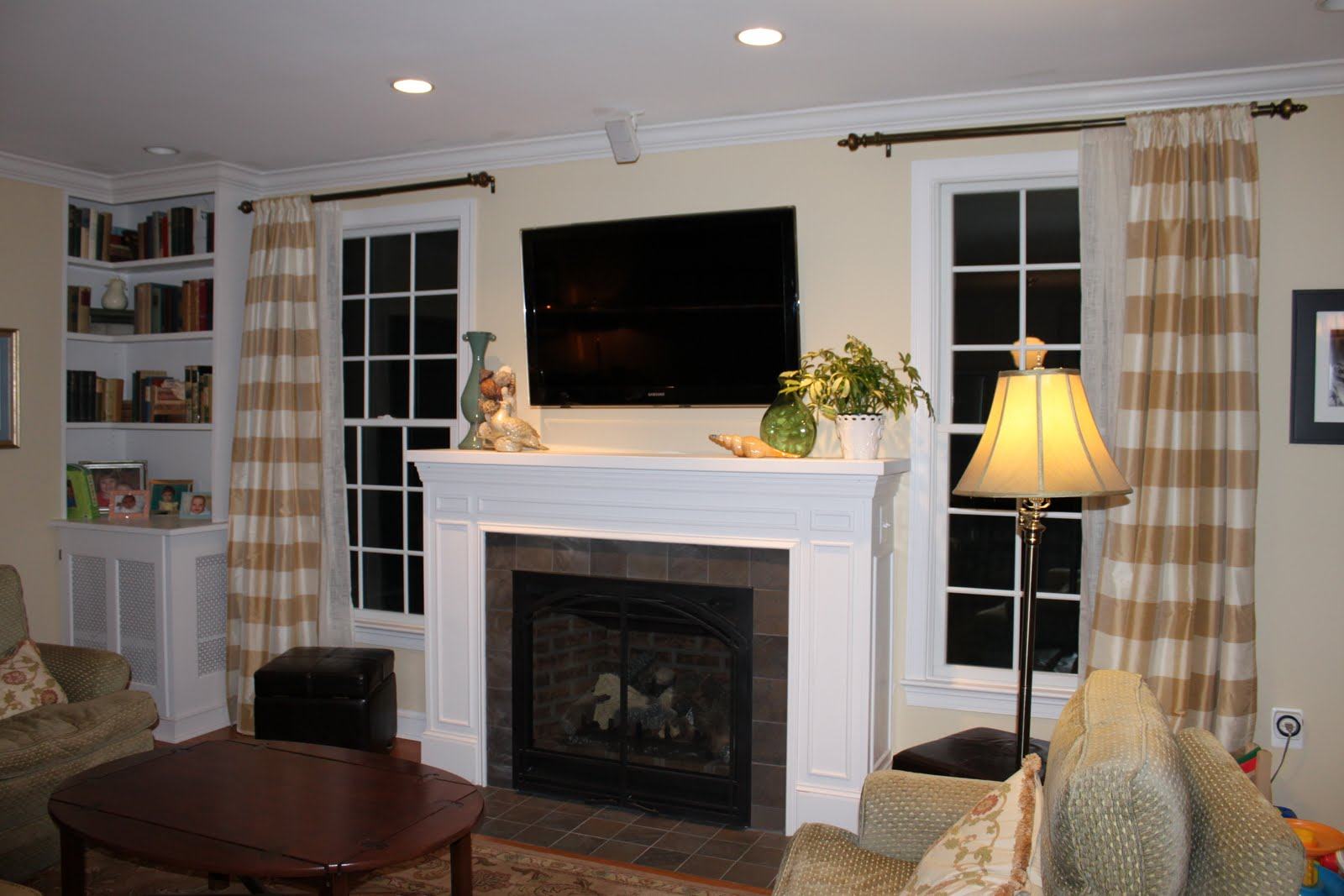 Fireplace Windows - home decor - Xshare.us