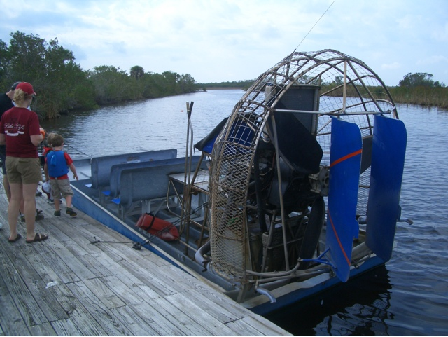 Blue Roads Journal: Everglades Airboat Tour