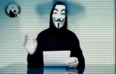 国際ハッカー集団アノニマスがYouTubeに日本政府に捕鯨をやめるよう求めるメッセージを投稿