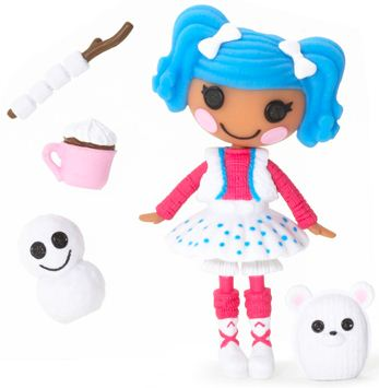 mini Lalaloopsy Mittens Fluff 'n' Stuff, con su mascota y accesorios