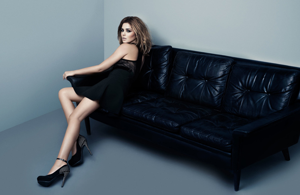 Cheryl Cole shoes for stylistpick, Holiday 2011