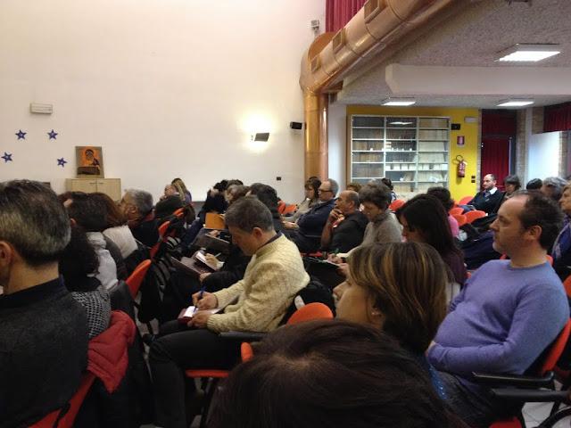 Incontro di pastorale familiare con i coniugi Gillini Zattoni 2015