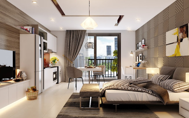 nội thất căn hộ Samsora Premier 105