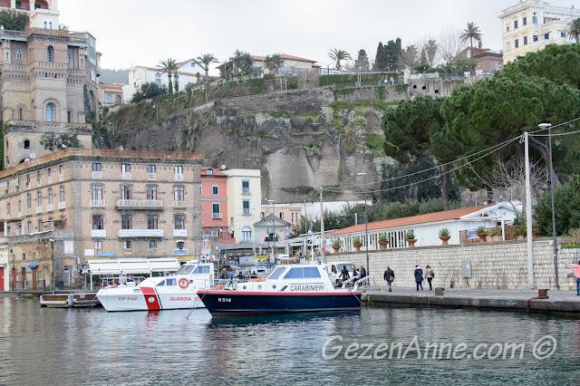 Sorrento limanı, Güney İtalya