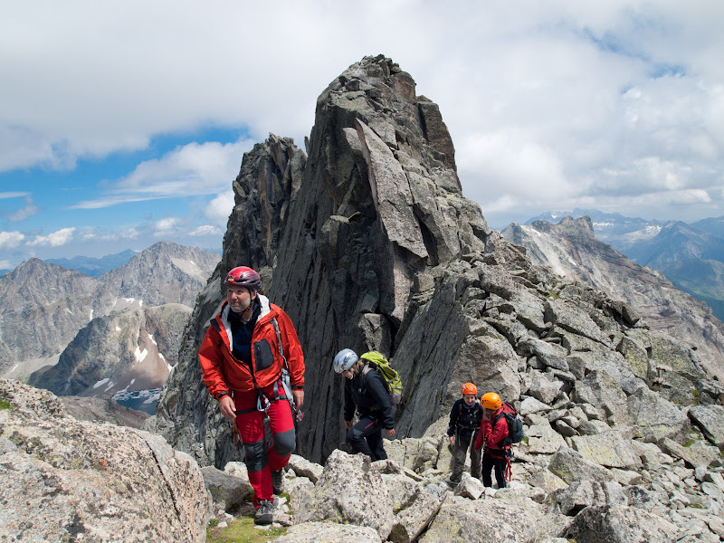 Arribant a la punta Lourde Rocheblave