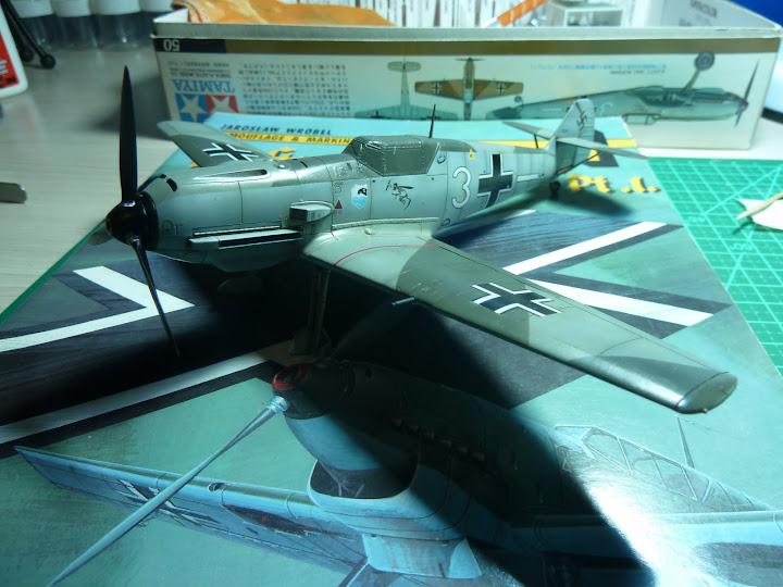 Bf-109 E-3 Tamiya 1/48 - Reforma pintura P1020564
