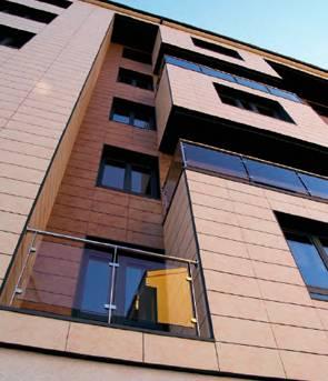 Nuevos materiales de construcci n gres extruido klinker - Materiales de construccion para fachadas ...