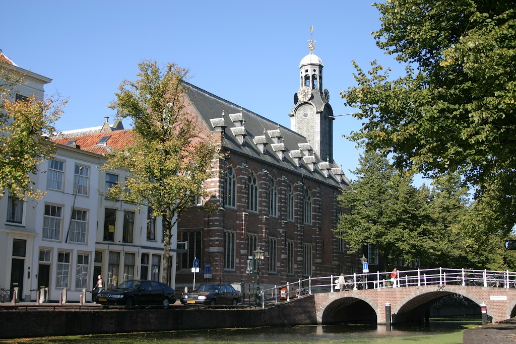 The academy building, the oldest part of Leiden University