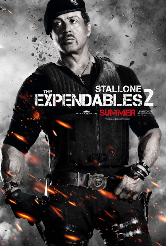expendables two ver6 xlg The Expendables 2   Galeria de Posters e Trailer.