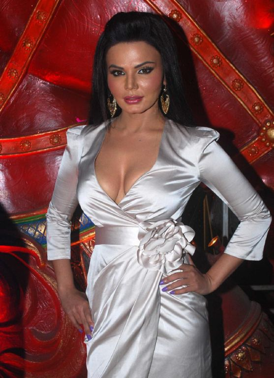 Rakhi Sawant At Comedy Circus Stage Photos