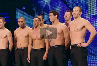 French stuntmen Cascade - Britain's Got Talent 2012