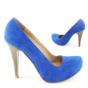 mavi süet