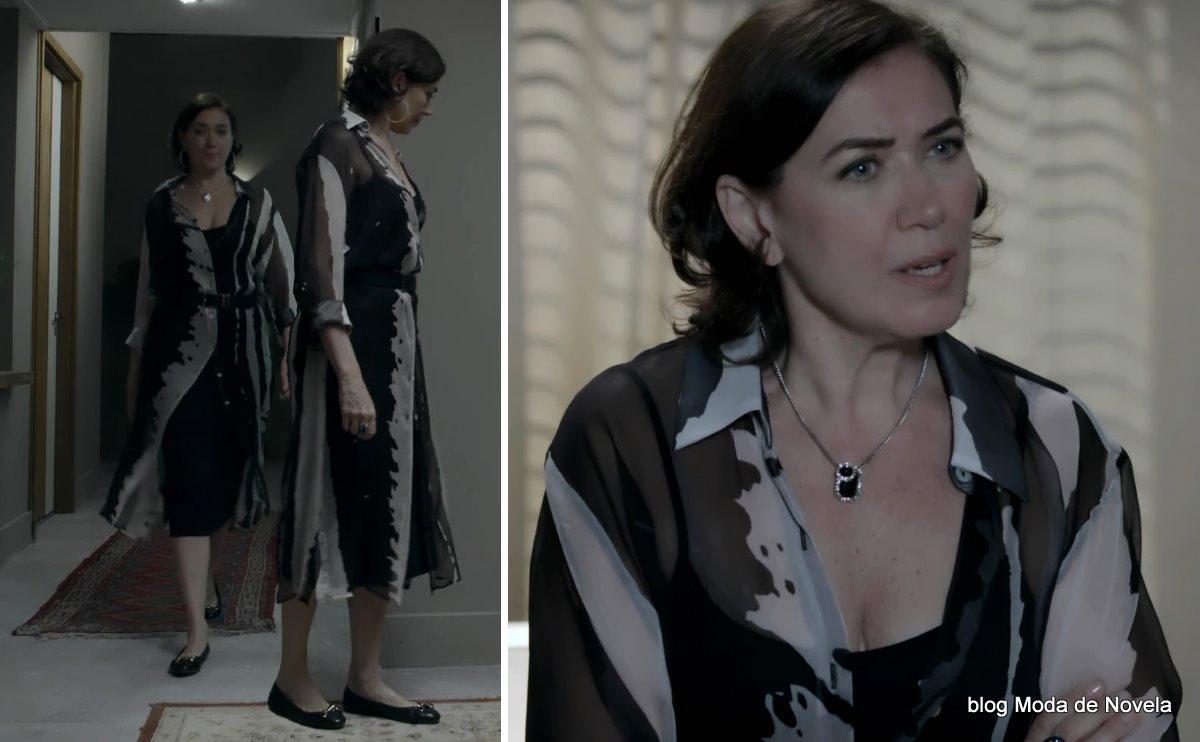 moda da novela Império - look da Maria Marta dia 28 de agosto