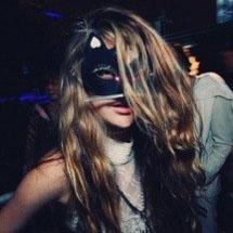 Máscara de gatinha