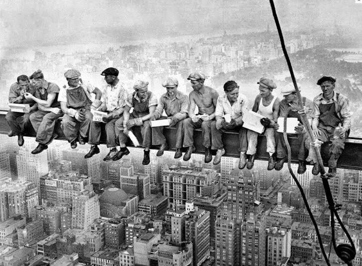 Trabalhadores do Rockefeller Center