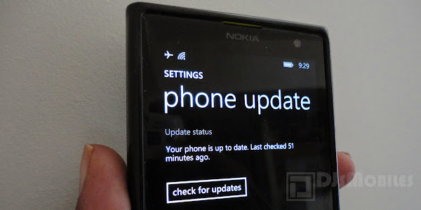 Windows Phone 8.1 software update