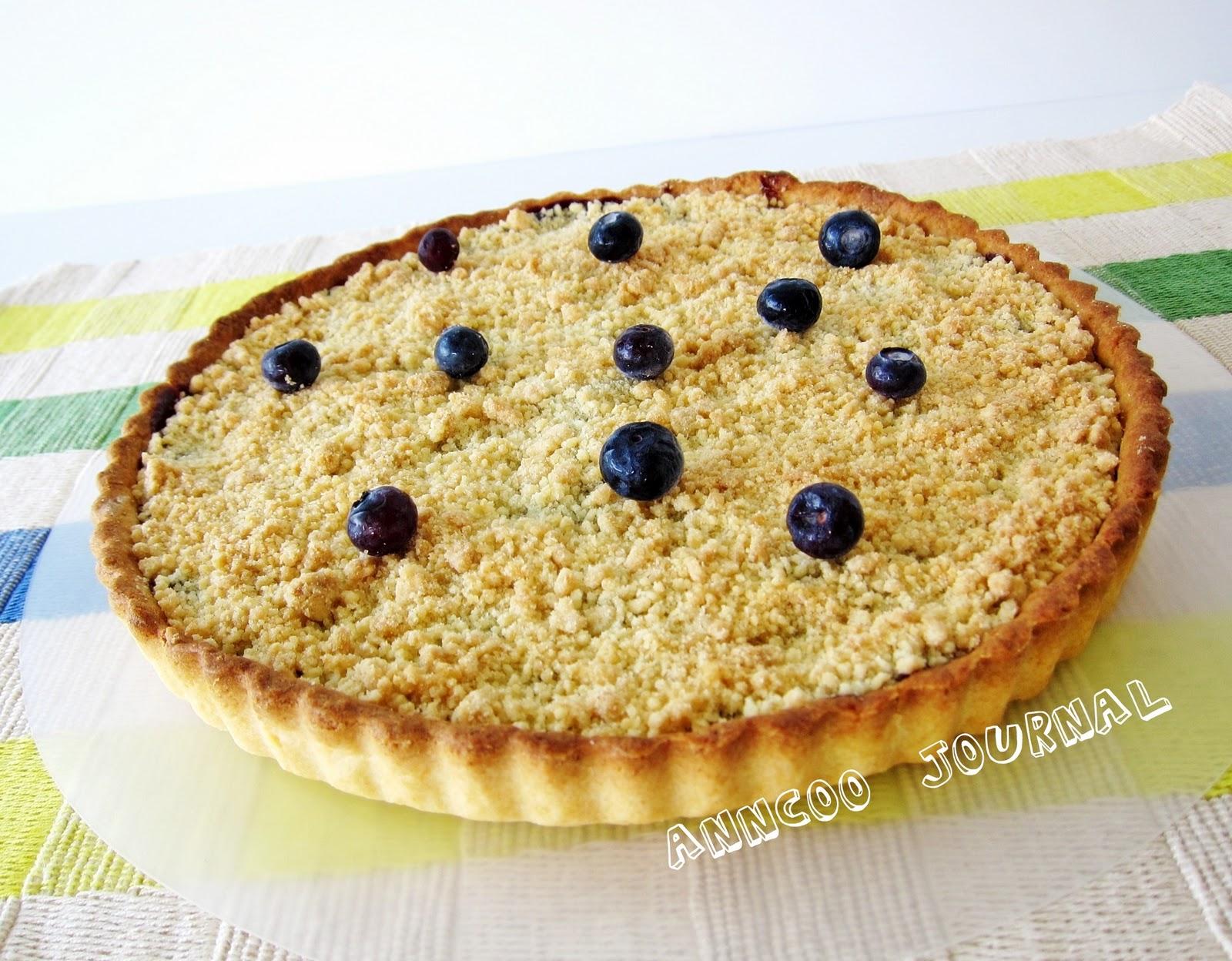 Blueberry Pie - Anncoo Journal