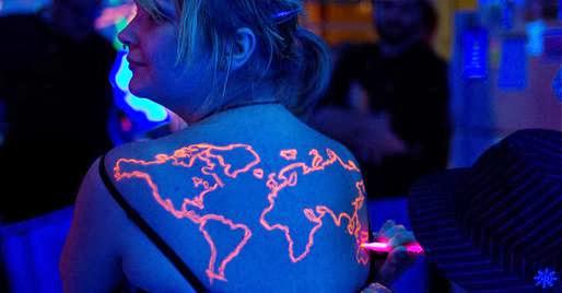 neon tattoo