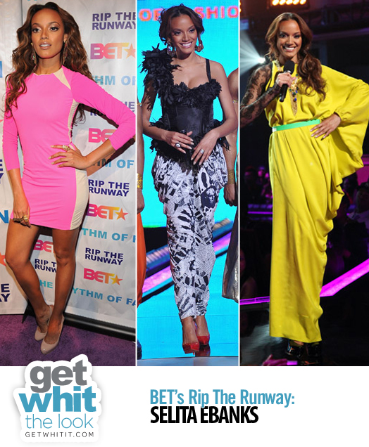 selita ebanks rip the runway. Selita Ebanks hosted with