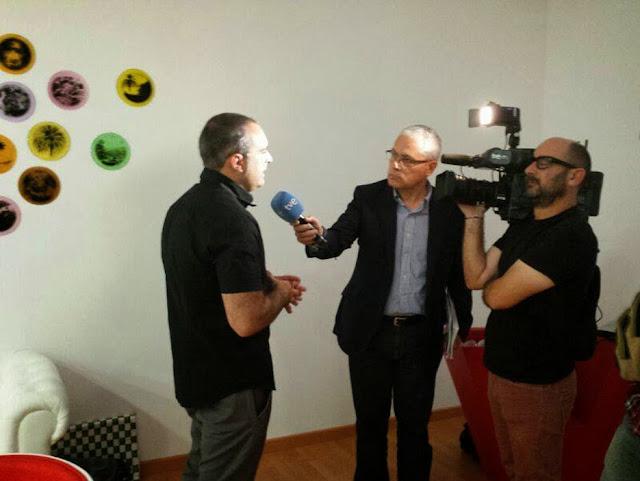 Entrevista al pintor Fernando Jiménez,primer edificio optimista de España