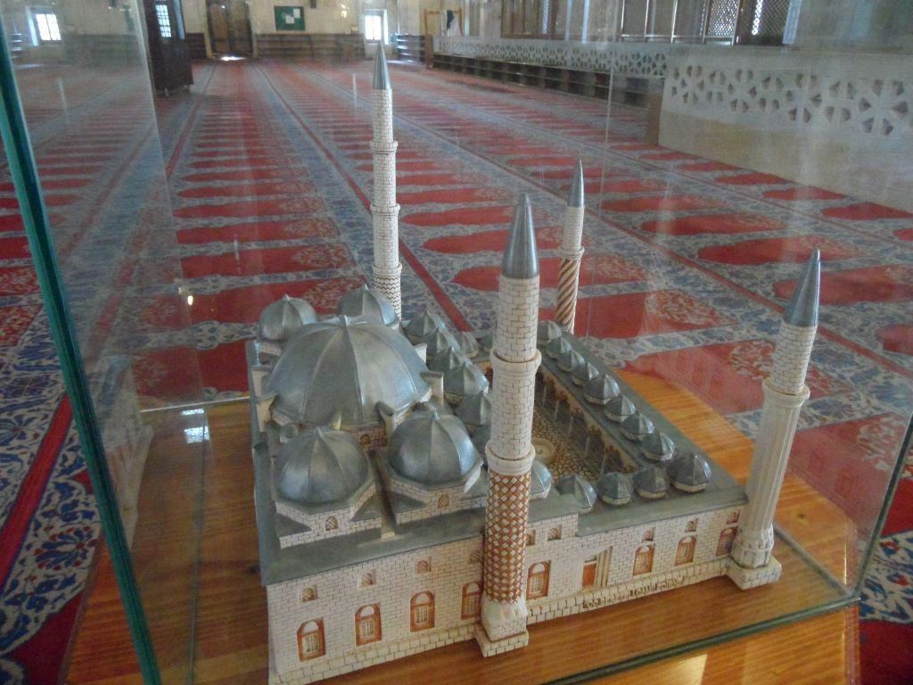 Üç Şerefeli Camii Maketi