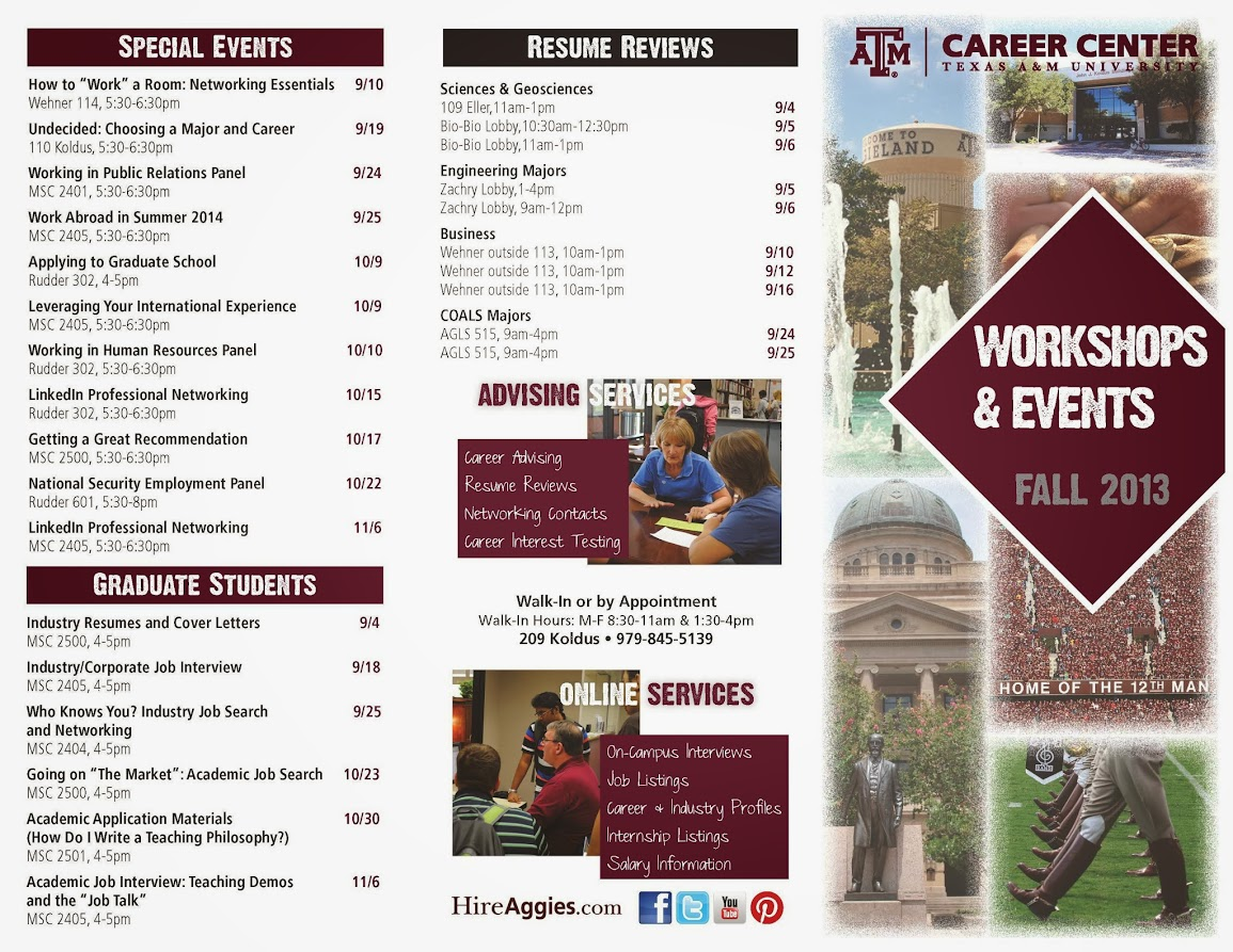 cover letter career center tamu Cover letters you should send a cover letter when: • applying through go irish and the employer has requested it contact the career center to.