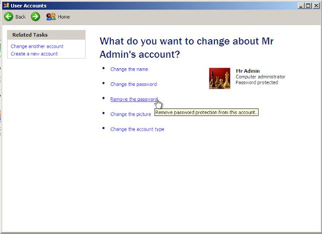 Cách xóa bỏ mật khẩu Windows XP khi quên đơn giản 6