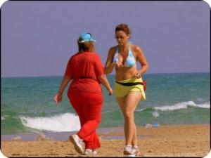 Похудение с помощью ходьбы