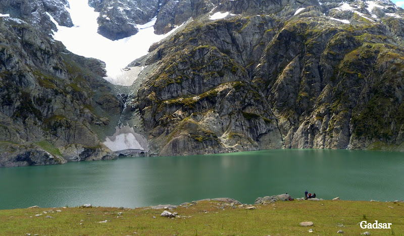 Kashmir great lakes trek Gadsar