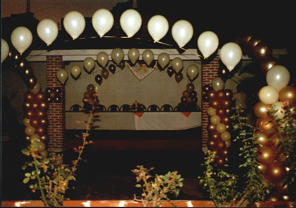 Fotos de decoraciones con globos.