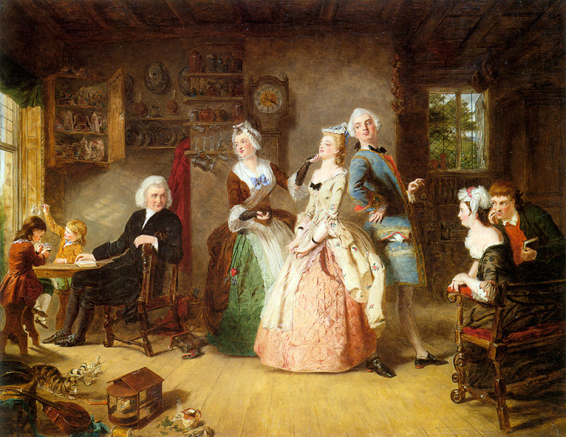 William Powell Frith - Measuring Heights