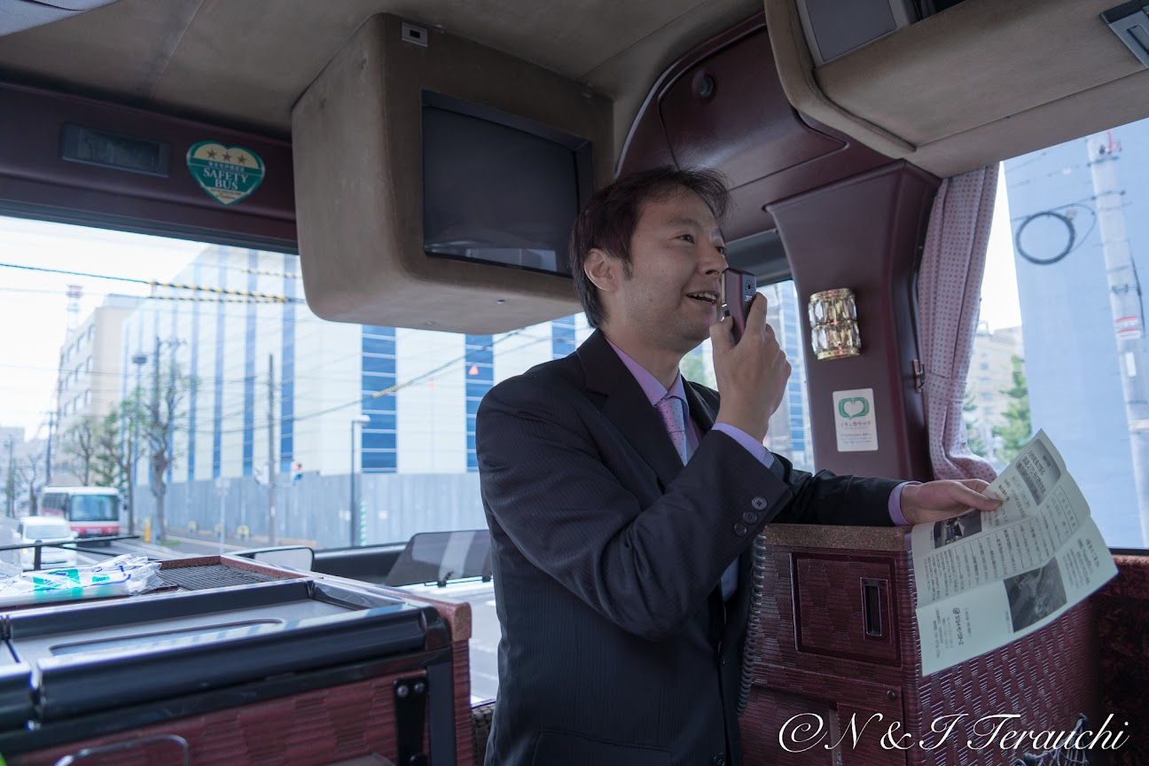添乗員の白田剛さん