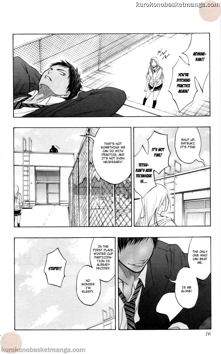 Kuroko no Basket Manga Chapter 81 - Image 14