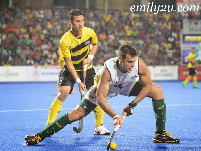 Sultan Azlan Shah Cup SAS mens hockey finals