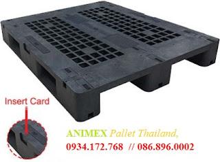 Pallet nhựa mặt lưới 1000 x 1200