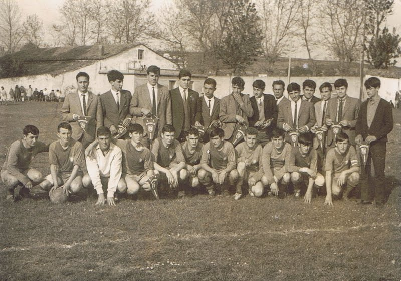 A.D.R. Numancia de Ares. Abril 1967.