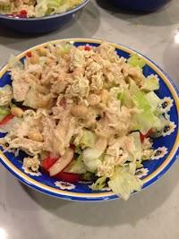 Shredded Chicken Summer Salad