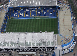 Stamford Bridge Stadium view sky