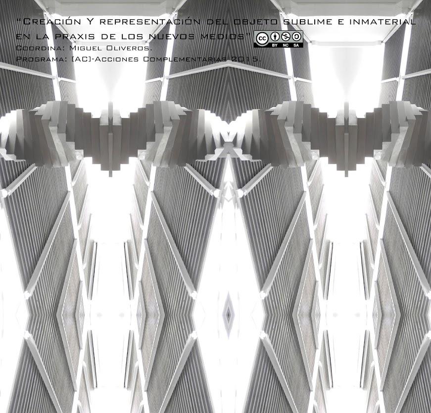 Creación y representación del objeto sublime e inmaterial en la praxis de los nuevos medios