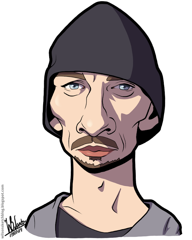 Charles Baker as Skinny Pete from Breaking Bad.