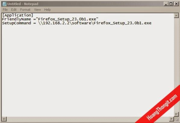Cài đặt phần mềm định dạng exe bằng Group Policy Object - GPO