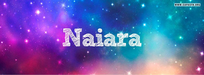 Capas para Facebook Naiara