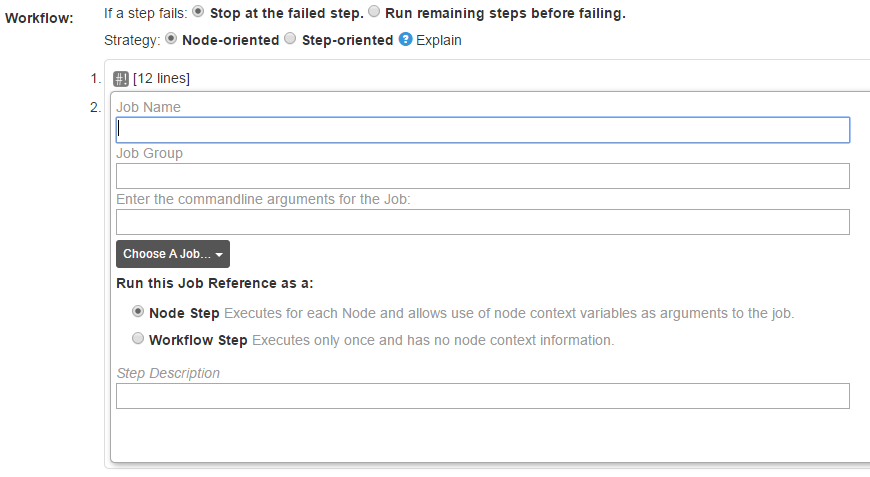 Executing job steps on different nodes - Google Groups