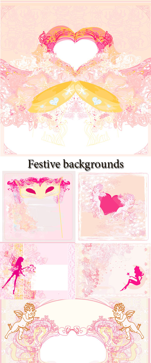 Stock Photo: Festive backgrounds