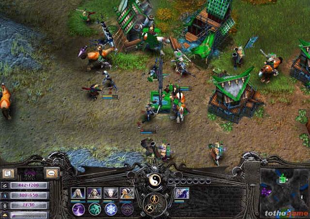 Các công trình trong Battle Realms
