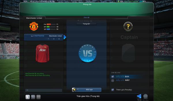 FIFA Online 3: Chế độ đấu xếp hạng và đấu trọng tài 5