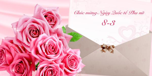 Tản mạn về chuyện tặng hoa và quà ngày Quốc tế phụ nữ 8/3