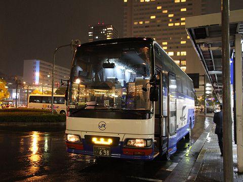 中国JRバス「鹿児島ドリーム広島号」 641-4909 広島駅新幹線口改札中