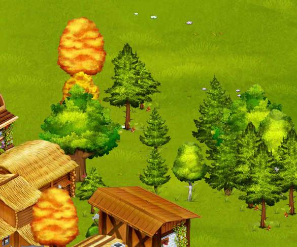 Nowe dzikie drzewa