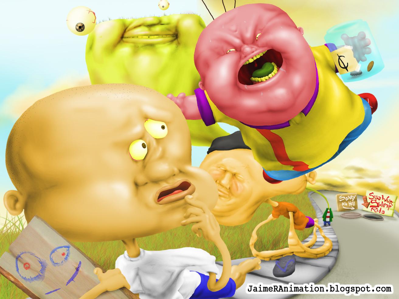 Jaime Rodriguez Animation Ed Edd N Eddy Illustrations